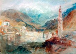 "William Turner ""Bozen und die Dolomiten"" 20 x 28 cm"