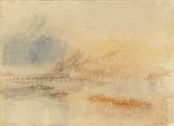 "William Turner ""Ehrenbreitenstein"" 25 x 34 cm"