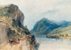 "William Turner ""Der Drachenfels"" 21 x 29 cm"