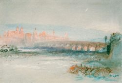 "William Turner ""Regensburg"" 19 x 28 cm"