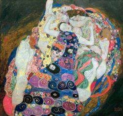 """Gustav Klimt """"Die Mädchen – Die Jungfrau"""" 200 x 190 cm"""