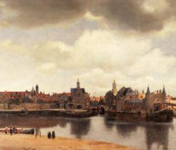 """Jan Vermeer """"Ansicht von Delft"""" 118 x 99 cm"""