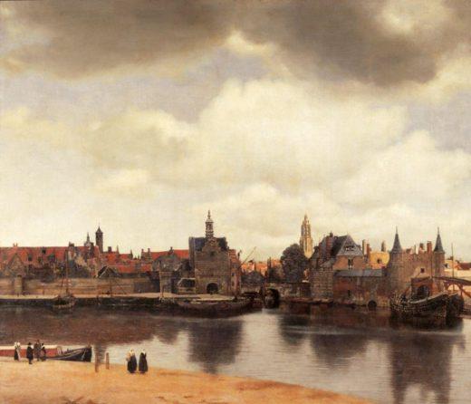 """Jan Vermeer """"Ansicht von Delft"""" 118 x 99 cm 1"""