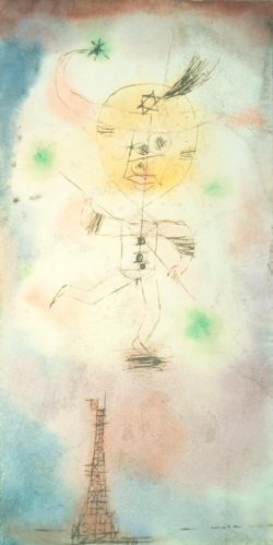 """Paul Klee """"Der Komet von Paris"""" 11 x 21 cm"""