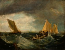 "William Turner ""Sheerness and the Isle of Sheppey"" 70 x 90 cm"