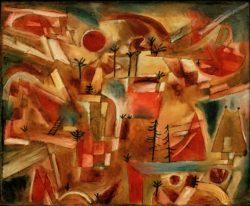 "Paul Klee ""Felslandschaft"" 51 x 42 cm"