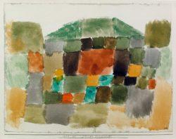 """Paul Klee """"Dünenlandschaft"""" 32 x 24 cm"""