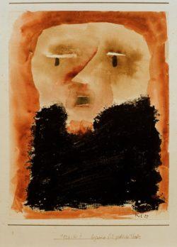 "Paul Klee ""Figurine für das groteske Theater"" 17 x 21 cm"