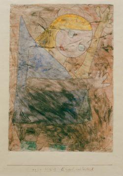 """Paul Klee """"Engel, noch tastend"""" 21 x 29 cm"""