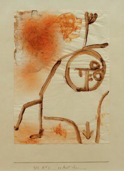 """Paul Klee """"Es hat ihn"""" 21 x 30 cm"""