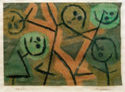 """Paul Klee """"Elfen"""" 34 x 24 cm"""