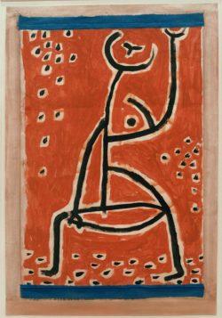 """Paul Klee """"Fräulein vom Sport"""" 41 x 59 cm"""