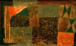 "Paul Klee ""Gang zum Schiff"" 50 x 30 cm"