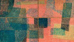 """Paul Klee """"Durch ein Fenster"""" 51 x 30 cm"""