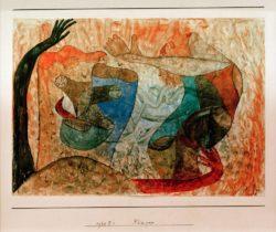 "Paul Klee ""Fänger"" 26 x 18 cm"