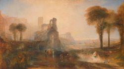 "William Turner ""Palast und Brücke des Caligula"" 137 x 246 cm"