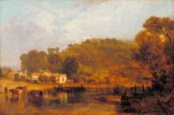"William Turner ""Cliveden on Thames"" 28 x 58 cm"
