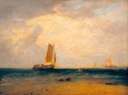 "William Turner ""Fischen am Blythe-Sand"" 89 x 119 cm"