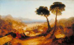 """William Turner """"Die Bucht von Baiae mit Apollo und Sibylle"""" 145 x 238 cm"""