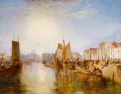 """William Turner """"Der Hafen von Dieppe"""" 174 x 225 cm"""