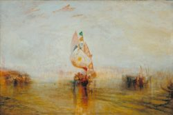 "William Turner ""Sonne von Venedig"" 62 x 92 cm"
