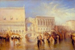 "William Turner ""Venedig, Seufzerbrücke"" 69 x 91 cm"
