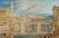 "William Turner ""Florenz"" 22 x 40 cm"