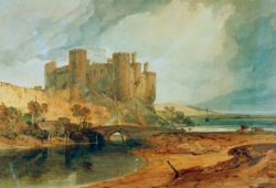 "William Turner ""Conway Castle"" 43 x 63 cm"