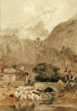 "William Turner ""Die Aiguillette"" 48 x 32 cm"