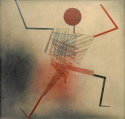 """Paul Klee """"Der Springer"""" 53 x 51 cm"""