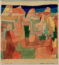 """Paul Klee """"Felsen am Meer"""" 18 x 20 cm"""