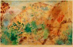 "Paul Klee ""Citronenhain"" 46 x 28 cm"