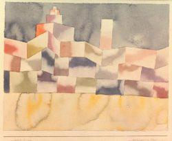 """Paul Klee """"Architektur im Orient"""" 32 x 25 cm"""