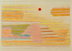 """Paul Klee """"Abend in Ägypten"""" 35 x 24 cm"""