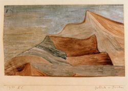 """Paul Klee """"Gelände im Süden"""" 23 x 16 cm"""