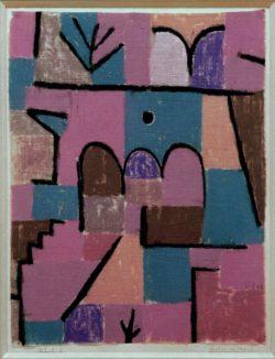 "Paul Klee ""Garten im Orient"" 28 x 36 cm"
