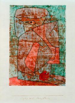 """Paul Klee """"Ägypterin"""" 21 x 29 cm"""