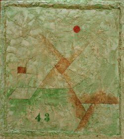 """Paul Klee """"43"""" 33 x 36 cm"""