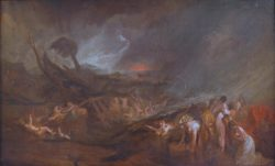 "William Turner ""Die Sintflut"" 142 x 235 cm"