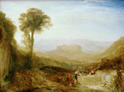 "William Turner ""Ansicht von Orvieto"" 91 x 123 cm"