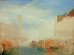 "William Turner ""Venedig, Vermählung des Dogen"" 91 x 122 cm"