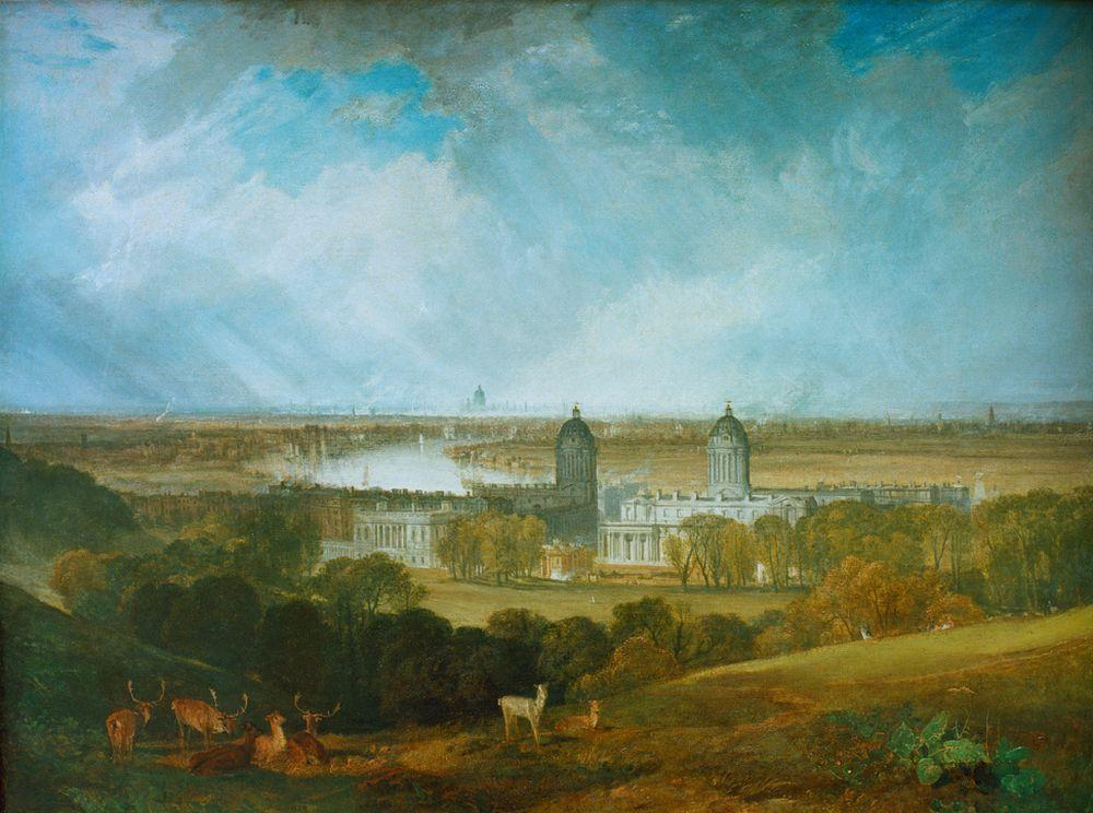 "William Turner ""London"" 90 x 120 cm"