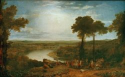 "William Turner ""Winzerfest in Macon"" 146 x 238 cm"