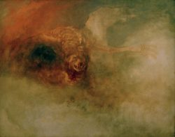 "William Turner ""Tod auf fahlem Pferd"" 60 x 76 cm"