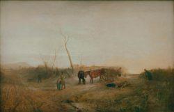 "William Turner ""Frostiger Morgen"" 114 x 175 cm"