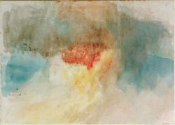 "William Turner ""Brand der Houses of Parliament"" 23 x 33 cm"