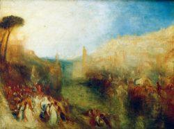 """William Turner """"Der Aufbruch der Flotte"""" 90 x 120 cm"""