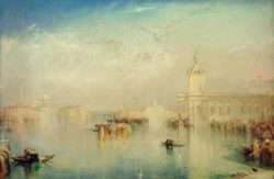 "William Turner ""Die Dogana, S.Giorgio, Citella"" 62 x 93 cm"