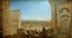 "William Turner ""Rom vom Vatikan mit Raffael"" 177 x 334 cm"