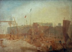"William Turner ""Margate bei Sonnenuntergang"" 86 x 117 cm"